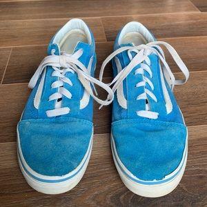 🟣3/$25🟣 BOYS: Blue Vans. Size 6 Kids.